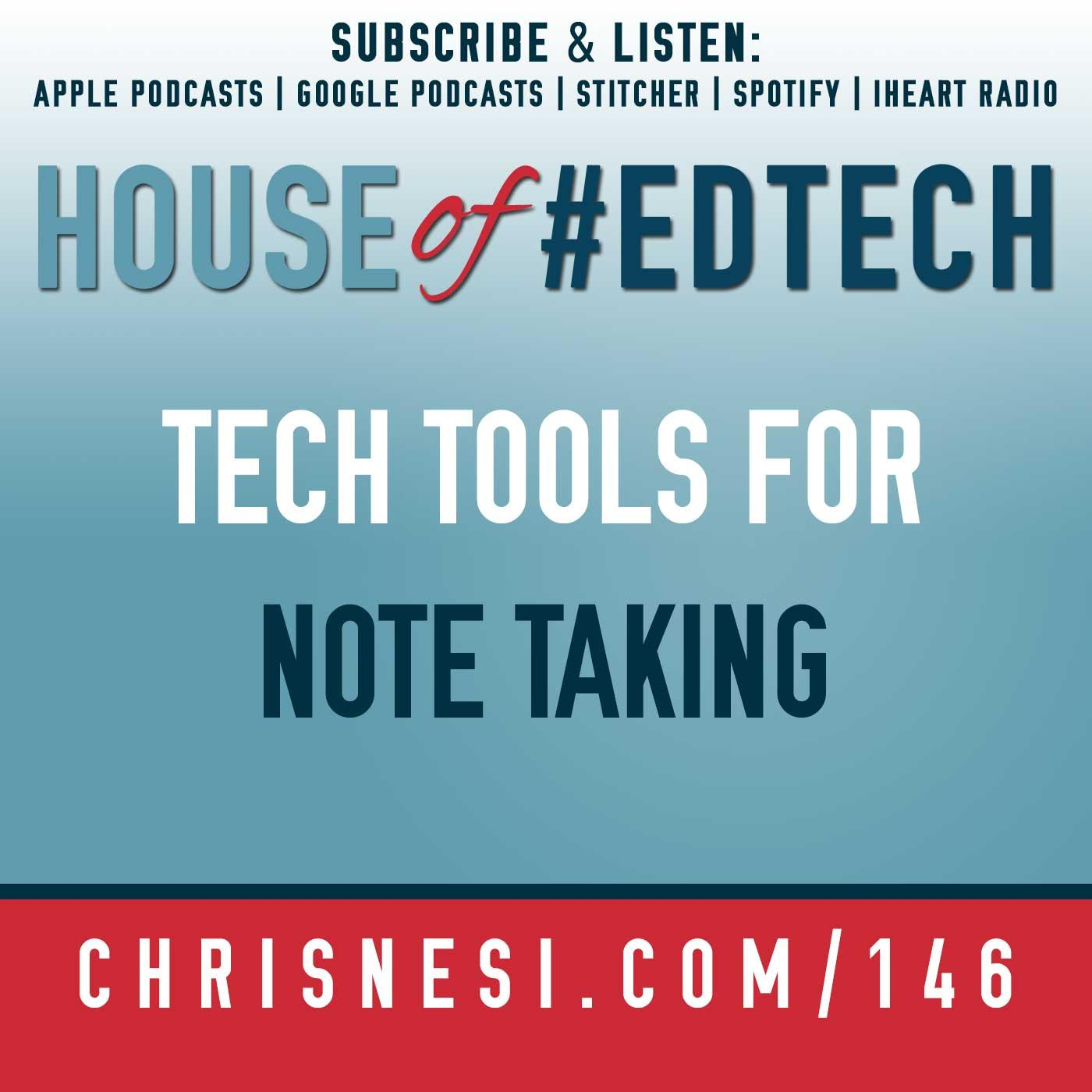 Tech Tools for Note Taking - HoET146