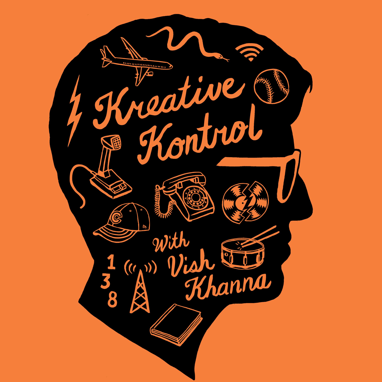 Artwork for Kreative Kontrol with Vish Khanna Podcast #1: John Cook, Tyler Francks