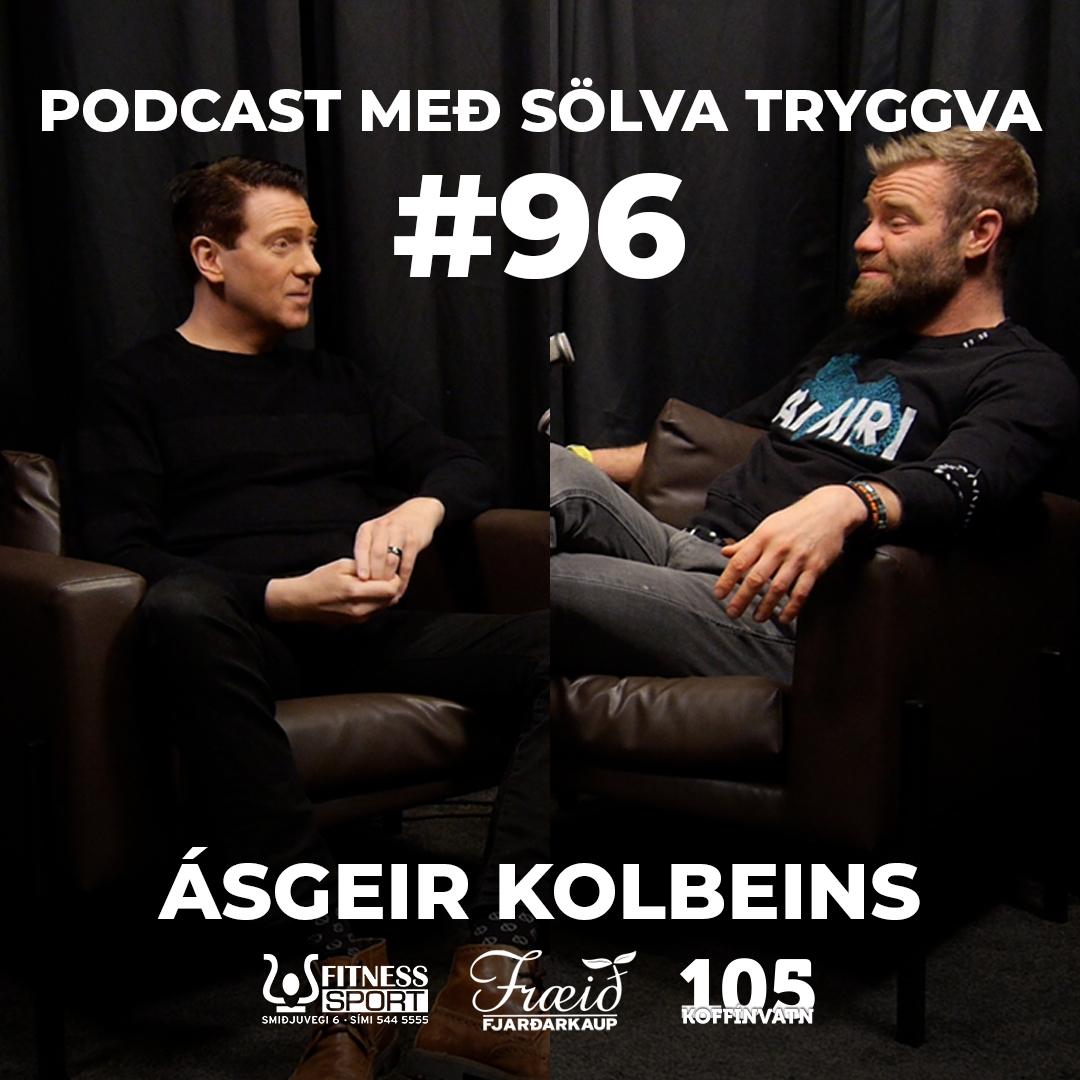 #96 Ásgeir Kolbeins með Sölva Tryggva