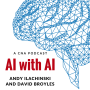 "Artwork for AI with AI: Hawking, Measuring ""AI Capability"" to the 9th Decimal Point, AI & Legal Liability, and Digital Creativity"