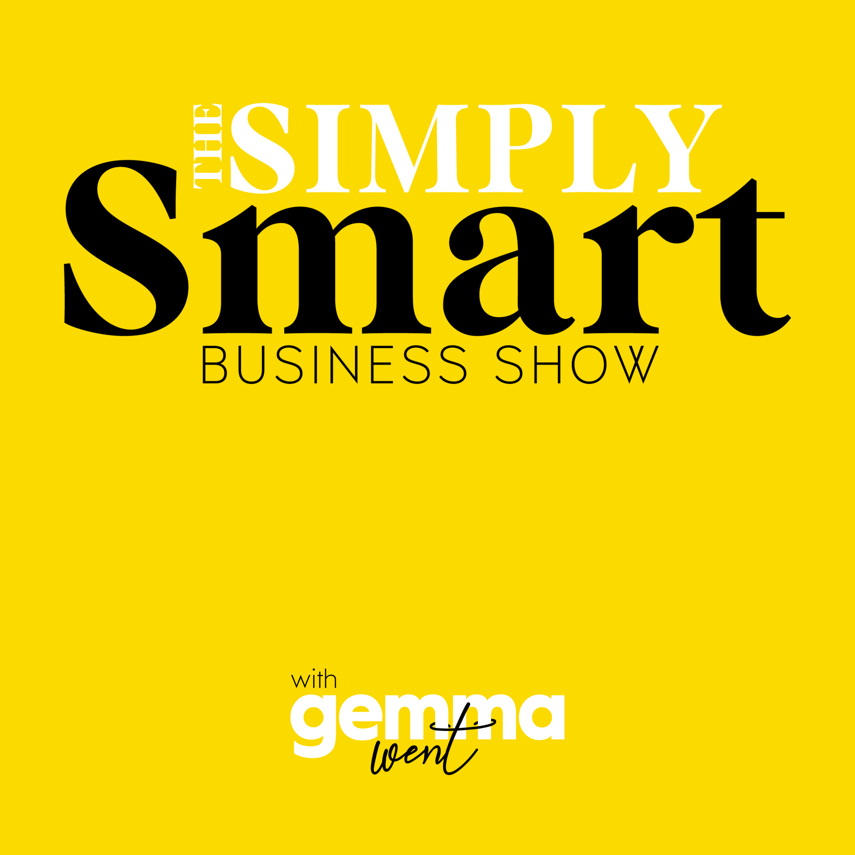 The Simply Smart Business Show show art