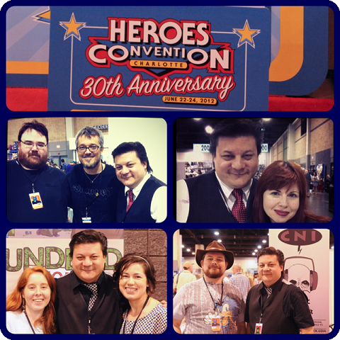 Episode 413 - More Heroes Con w/ Steve Niles, Kelly Sue DeConnick, Kevin Mellon, Charles Soule and more!
