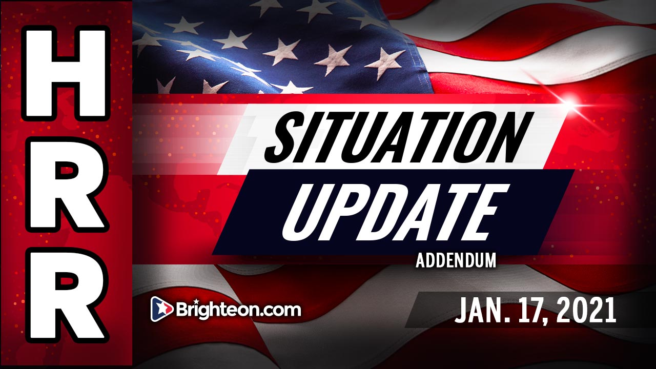 Situation Update ADDENDUM for Jan. 17th - GOOD faith people vs BAD faith actors