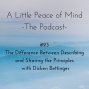 Artwork for Episode 93: The Difference Between Describing and Sharing the Principles with Dicken Bettinger