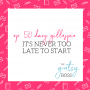 Artwork for 50. Dacy Gillespie: It's Never Too Late to Start
