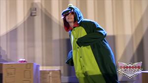 127 - Victoria Belmont as Godzilla