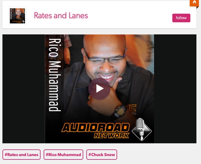 The Lead Pedal Podcast Team Visits The Rates and Lanes Podcast