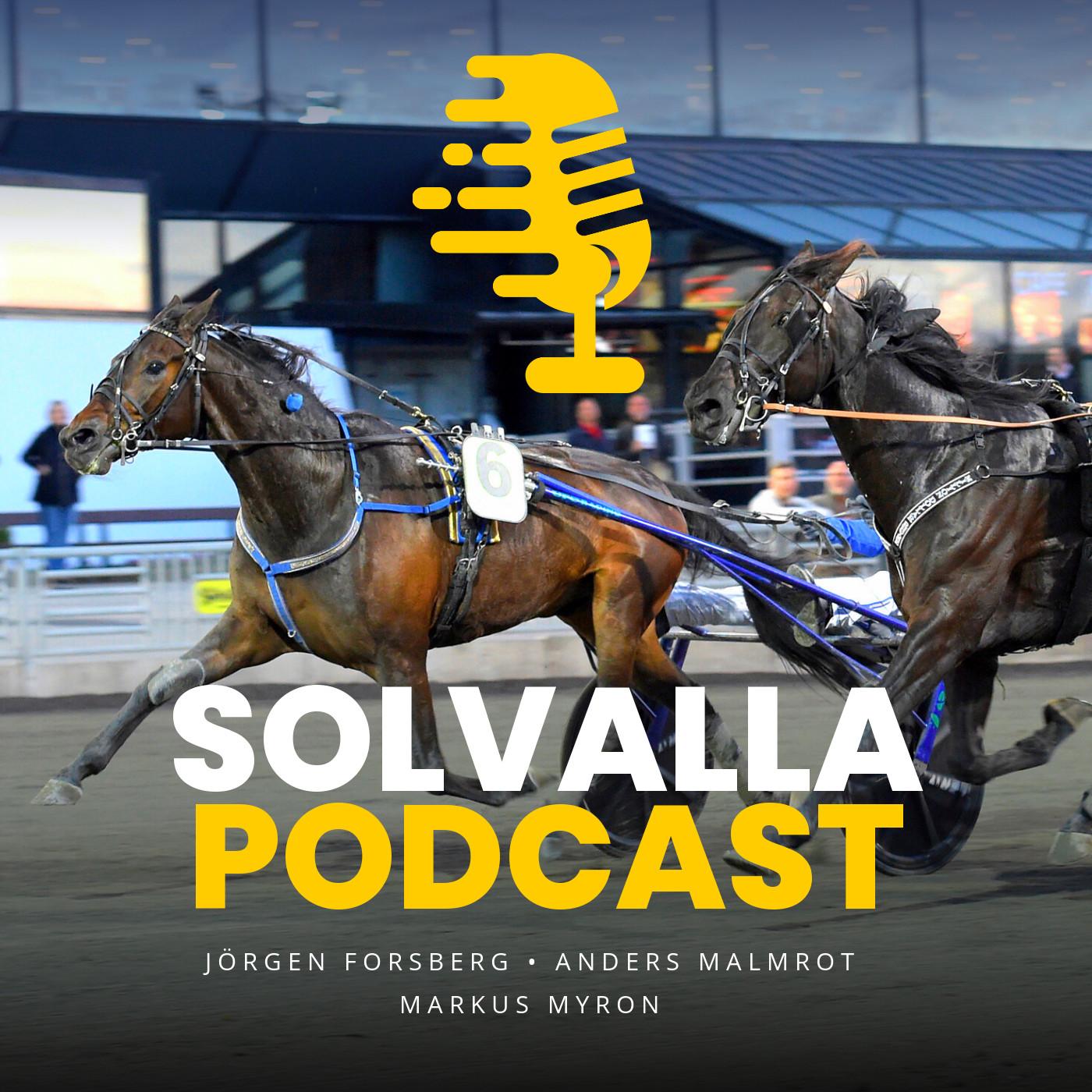 Solvalla Podcast show art