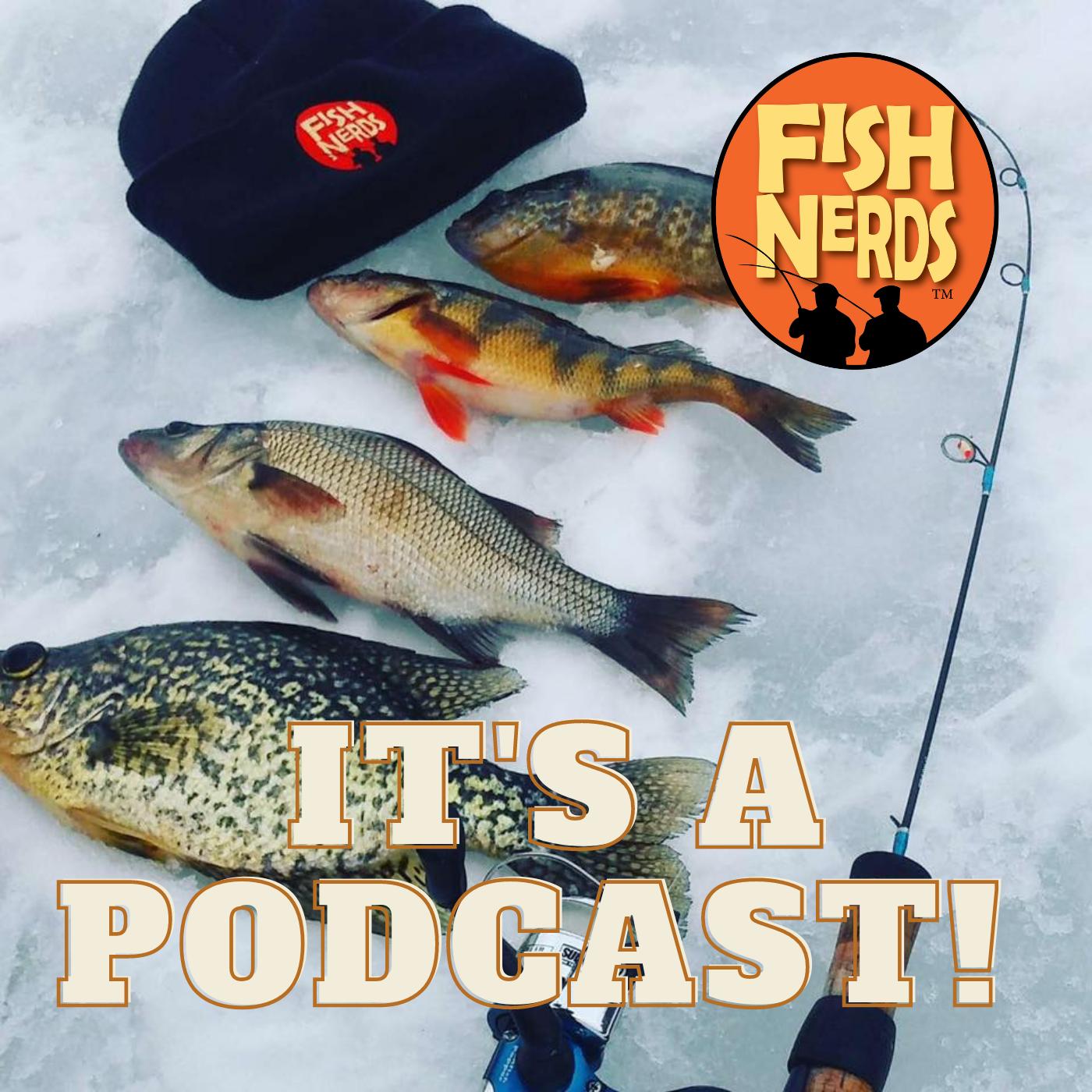 Fish Nerds Fishing Podcast show art