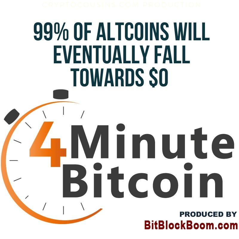 99% of Altcoins Will Eventually Fall Towards $0