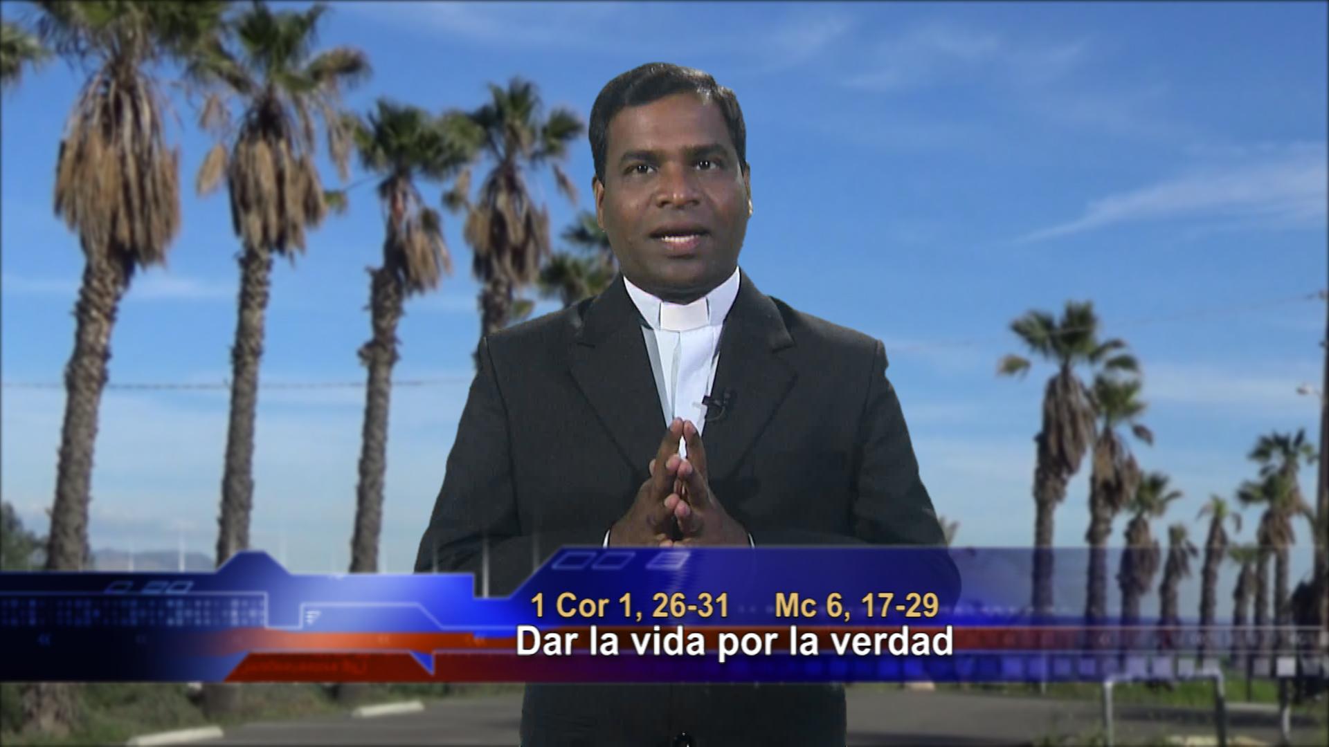 Artwork for Dios te Habla con Fr. Deebar Yonas, SVD; Tema el hoy: Dar la vida por la verdad