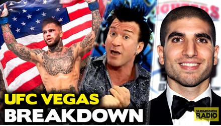 Submission Radio #93 Helwani, Gunnar, Lombard, Holloway, Robin Black, Chris Van Heerden + UFC Vegas