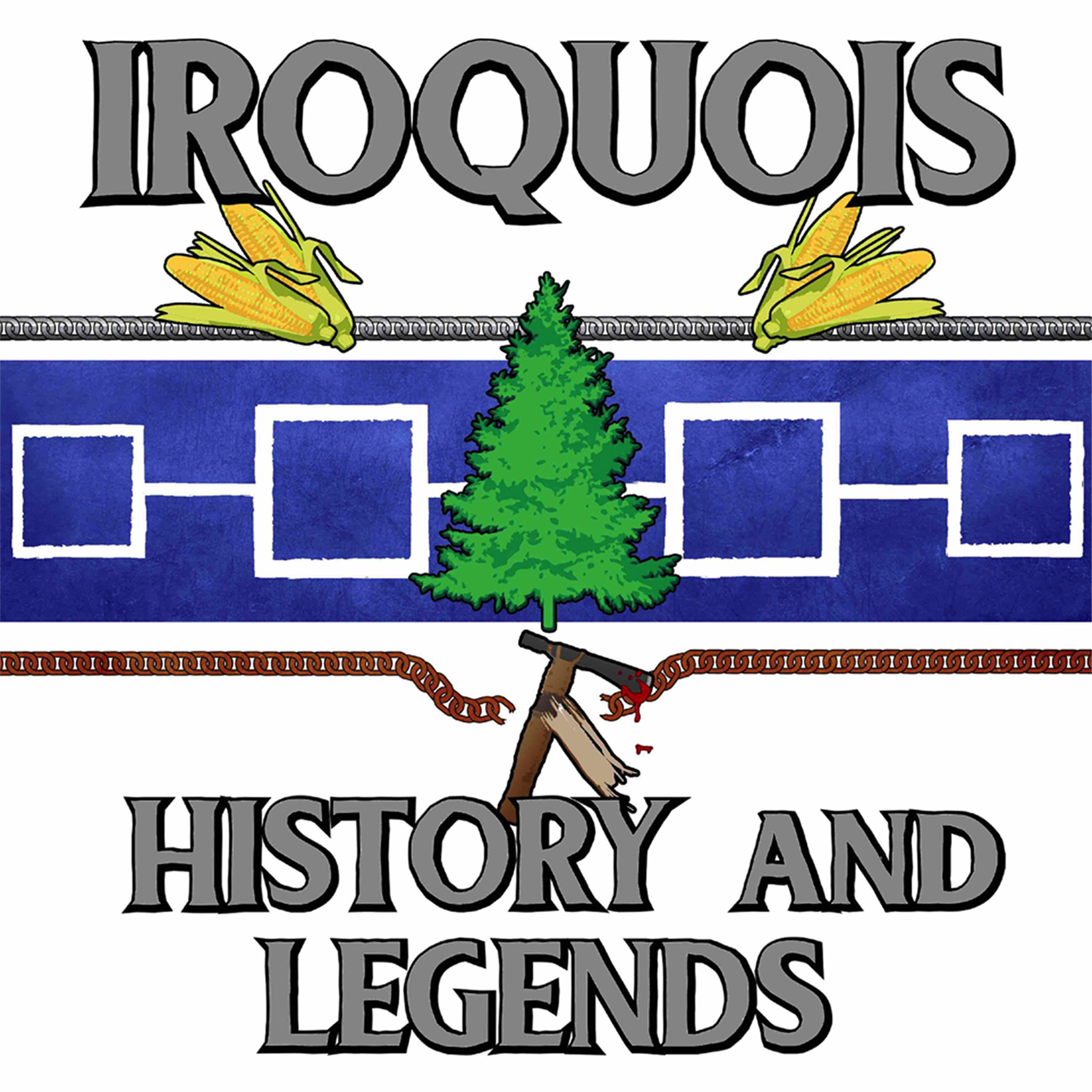 Iroquois History and Legends show art