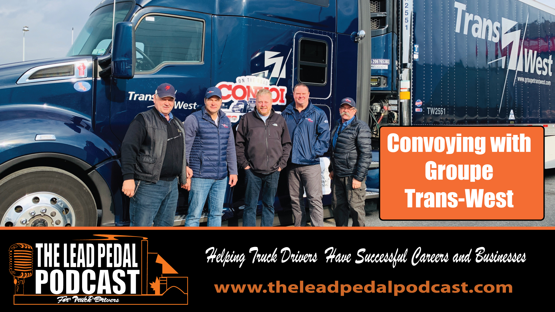 Convoying with Groupe Trans West