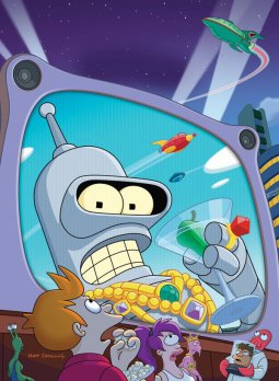 Episode 33: Futurama- Bender's Big Score