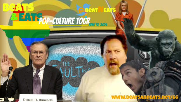B&E #66: Gay Texas | Movie TV Reviews | Orange is the New Black | Donald Rumsfield | Tom Cruise Flops
