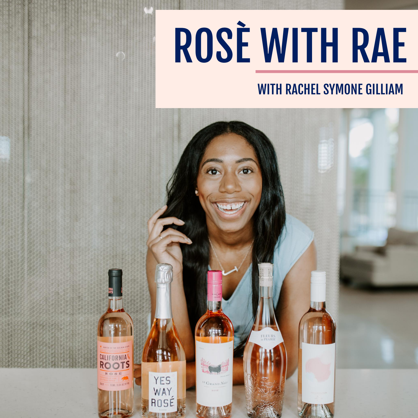 Rosè with Rae show art
