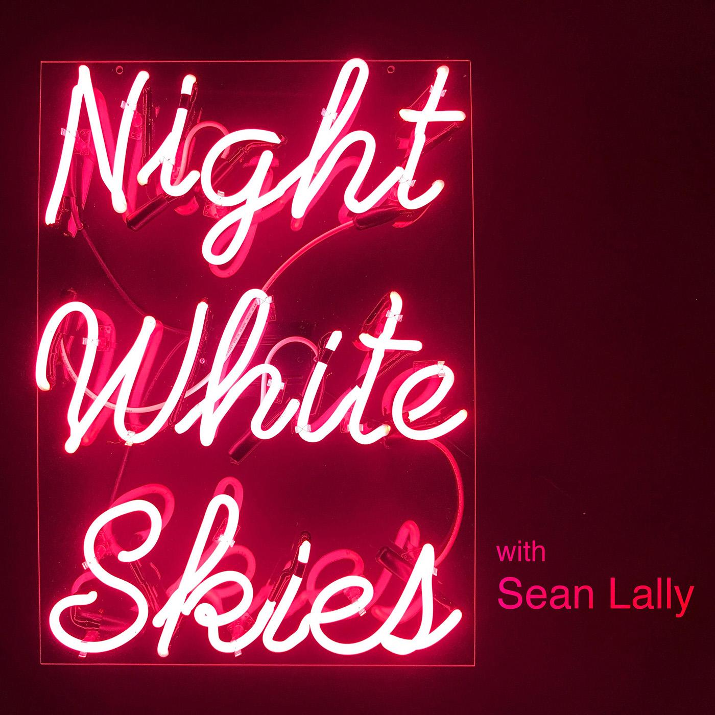 Night White Skies show art