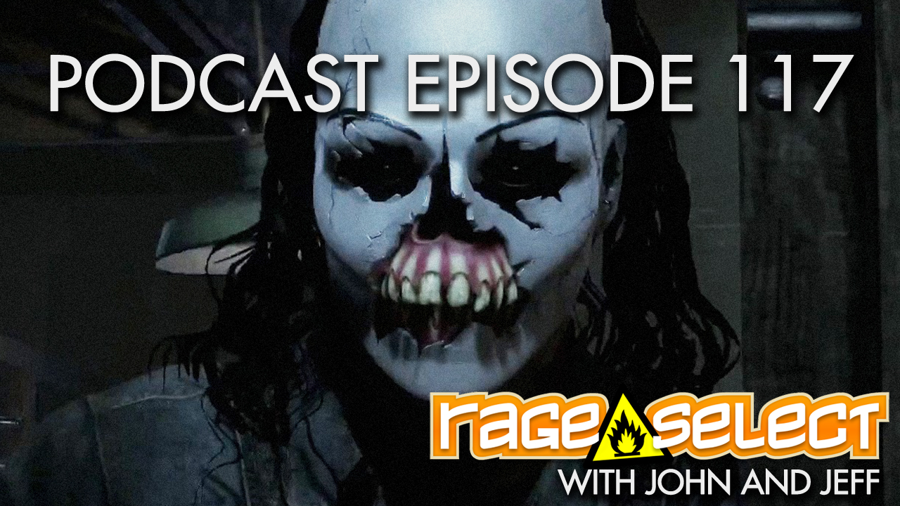 Rage Select Podcast Episode 117 - John and Jeff answer your questions!