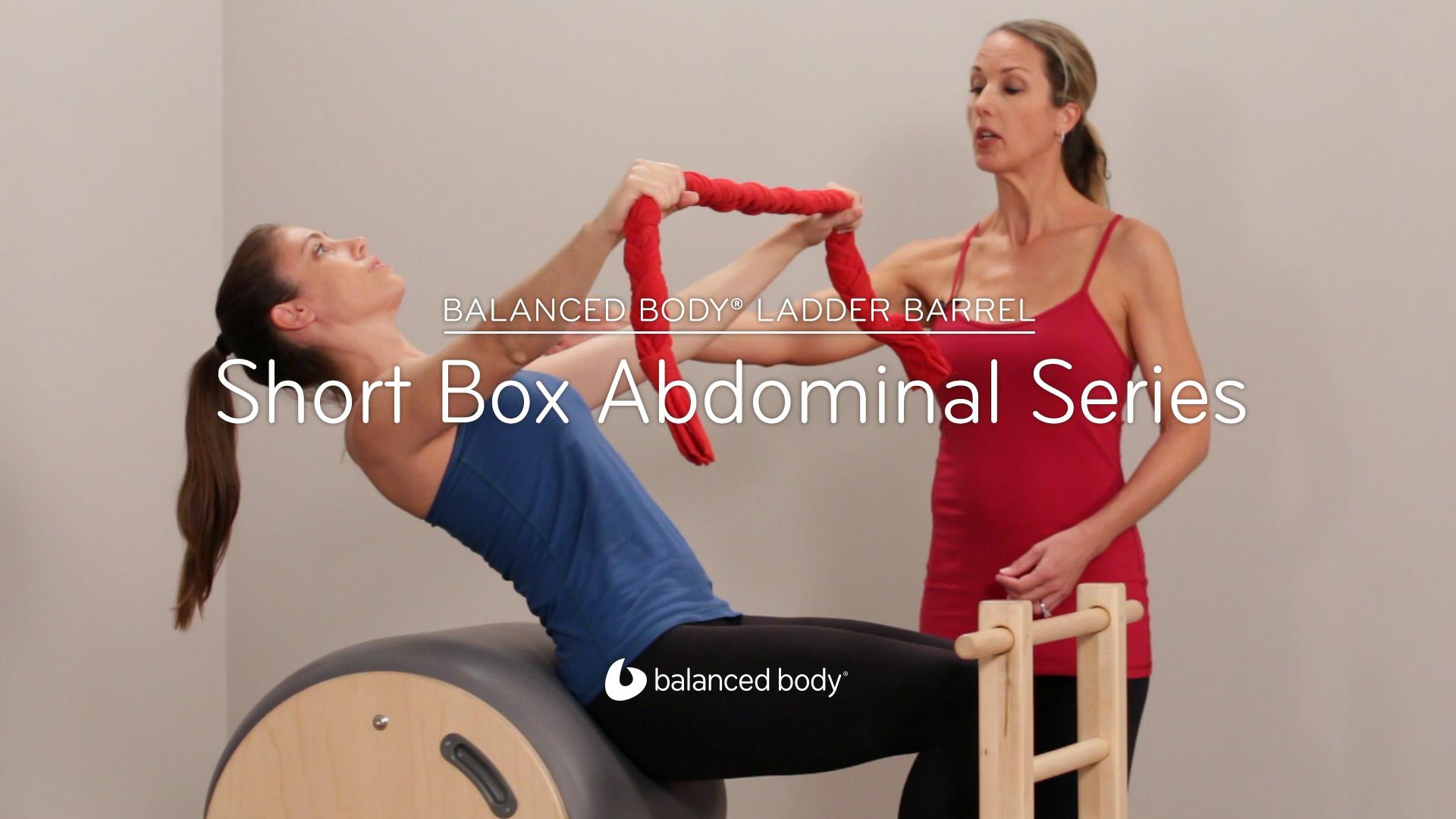 Artwork for Balanced Body® Ladder Barrel: Short Box Abdominal Series