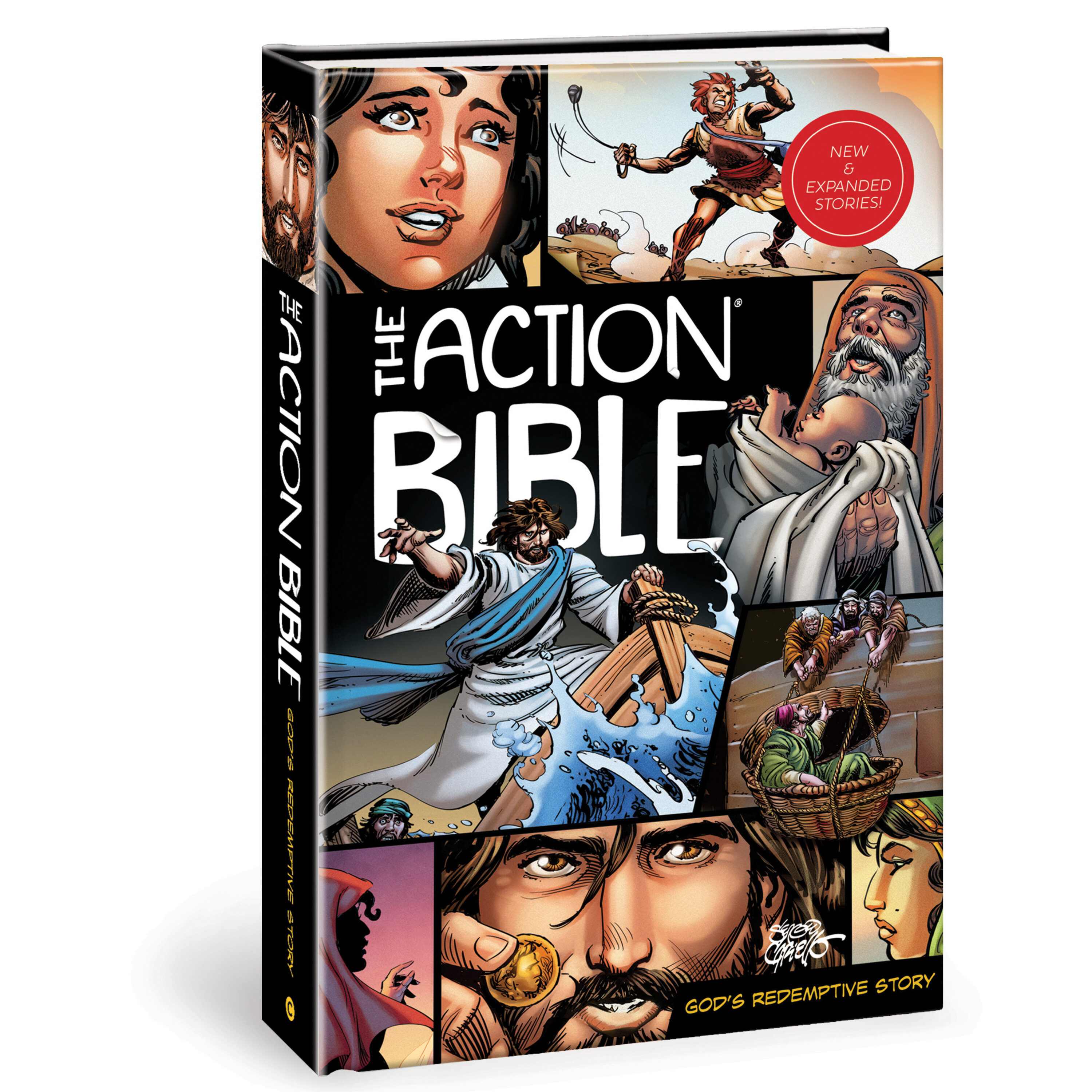 The Action Bible - Part II with Sergio Cariello