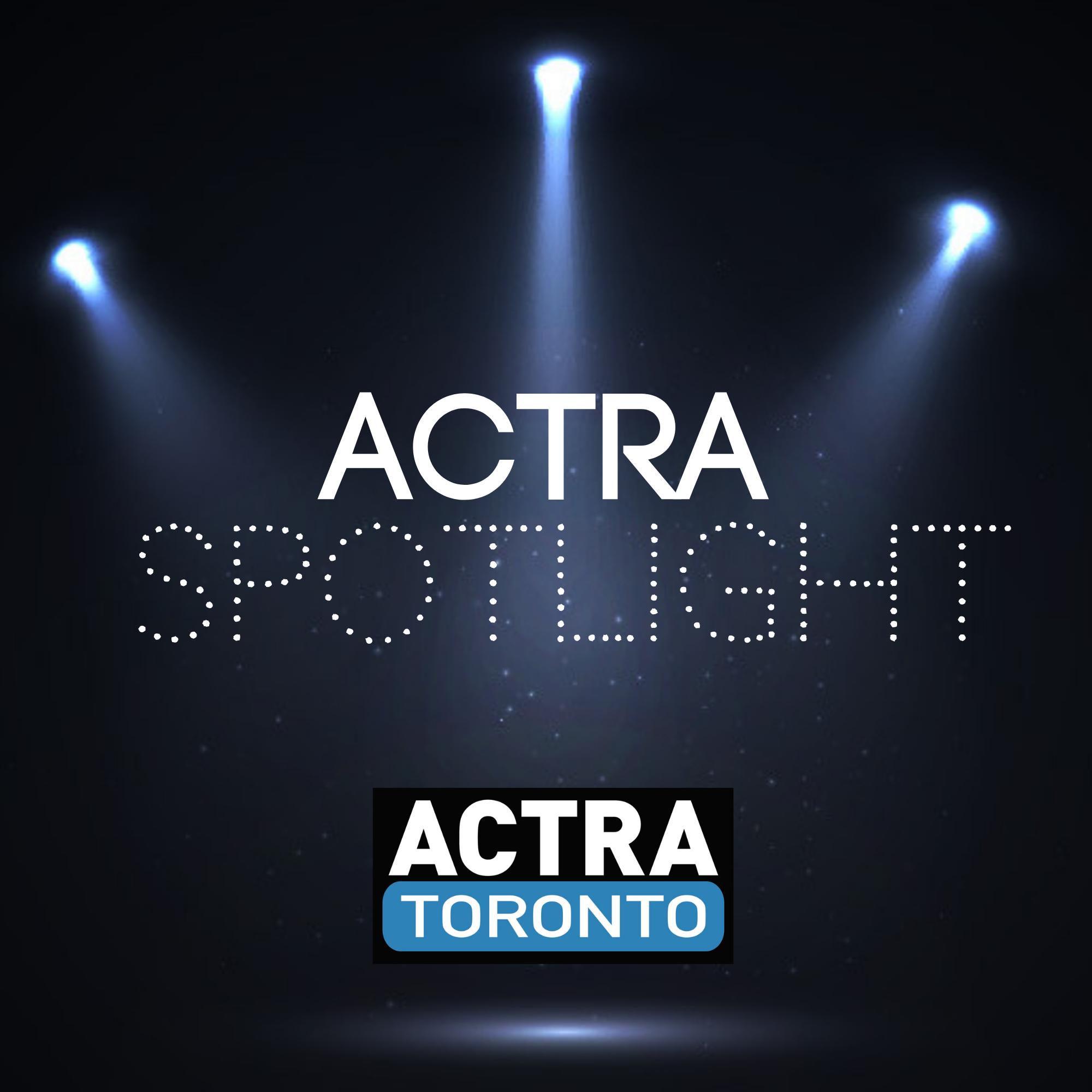 ACTRA Spotlight show art