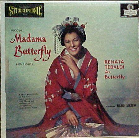 Renata Tebaldi as Mme.Butterfly