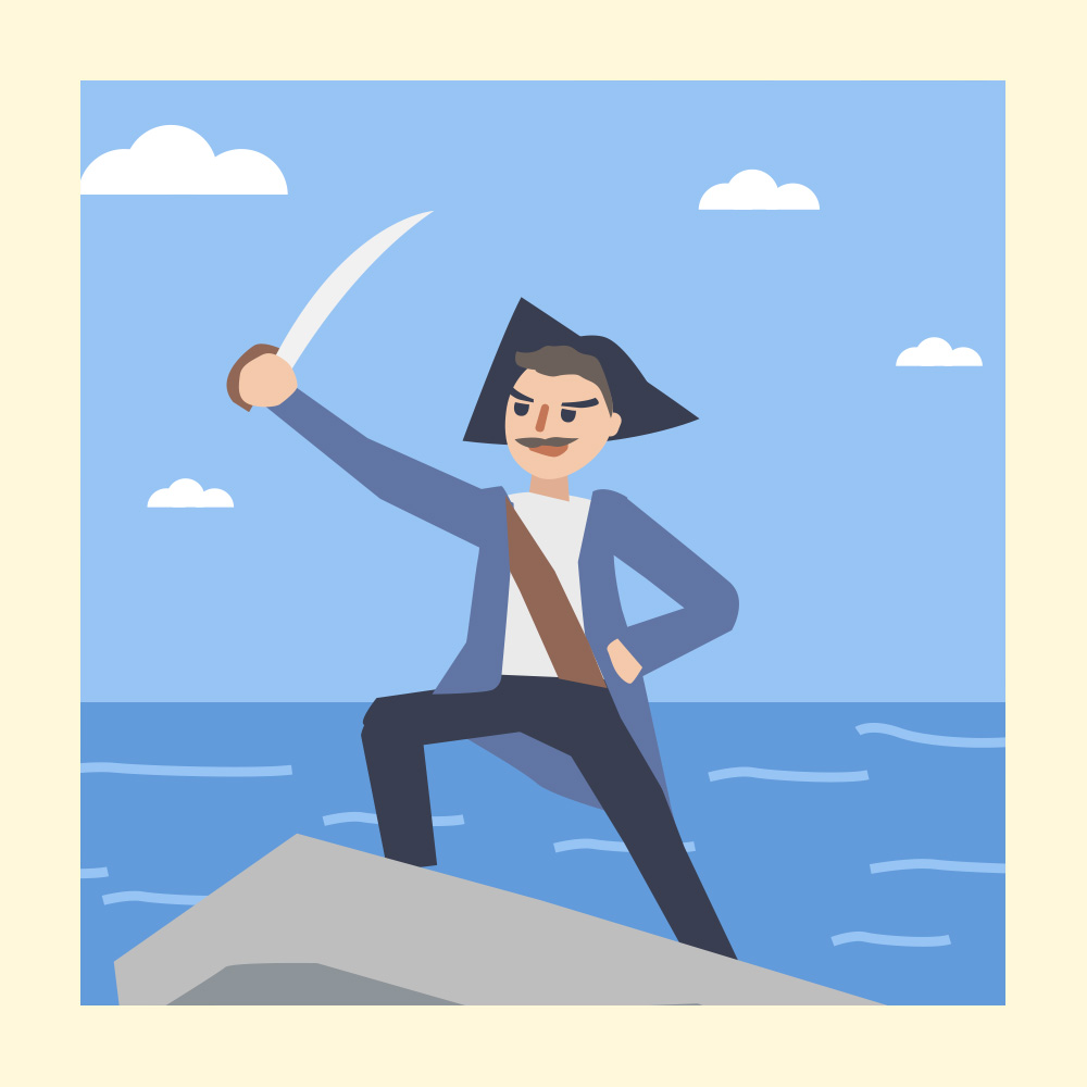 Enjoy Some Swashbuckling Fun with this Pirate Poem - Storytelling Podcast for Kids - The Pirate Don Durk of Dowdee E:34