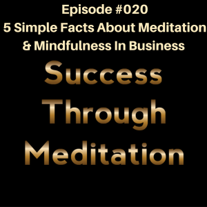 Episode #020 - 5 Simple Facts About Meditation & Mindfulness in Business