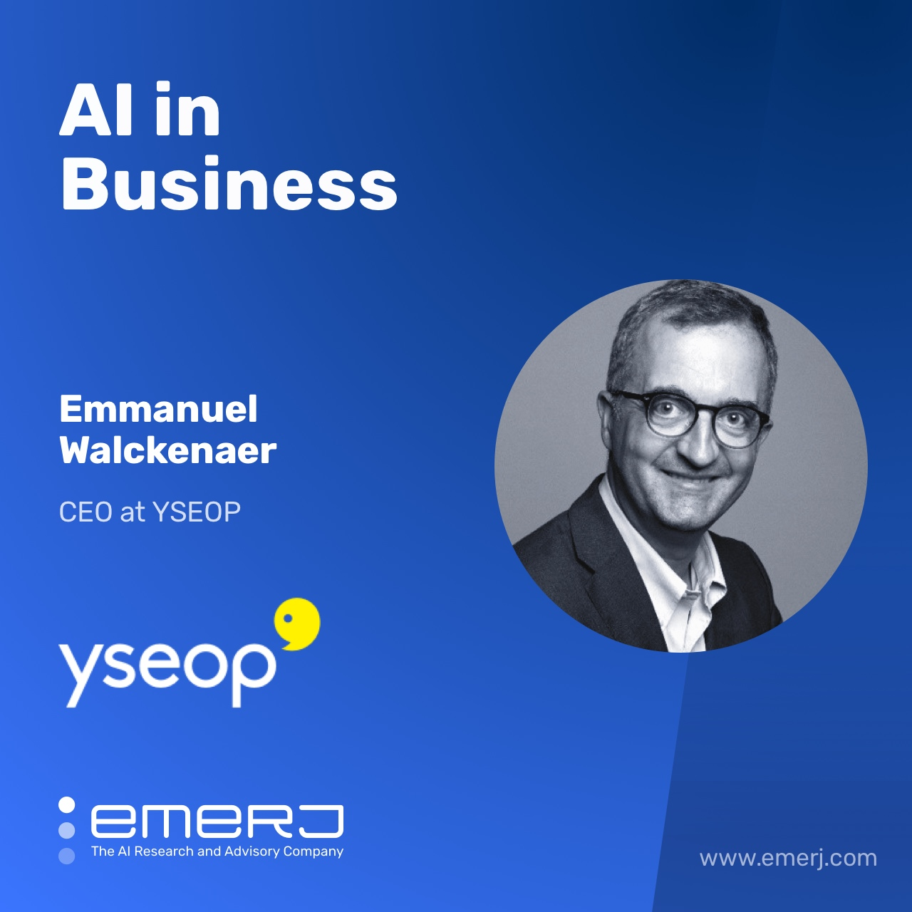 Streamlining Financial Reporting with AI and NLG - with Emmanuel Walckenaer of YSEOP