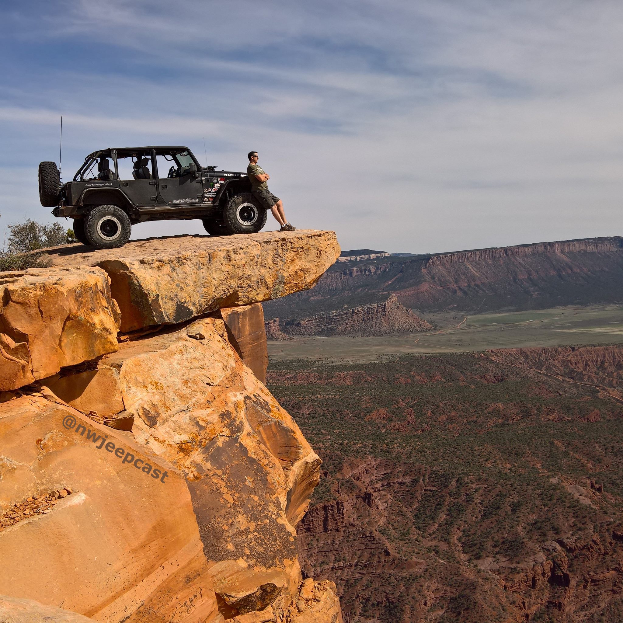 Northwest Jeepcast - A Jeep Podcast - Top of the World - Moab UT