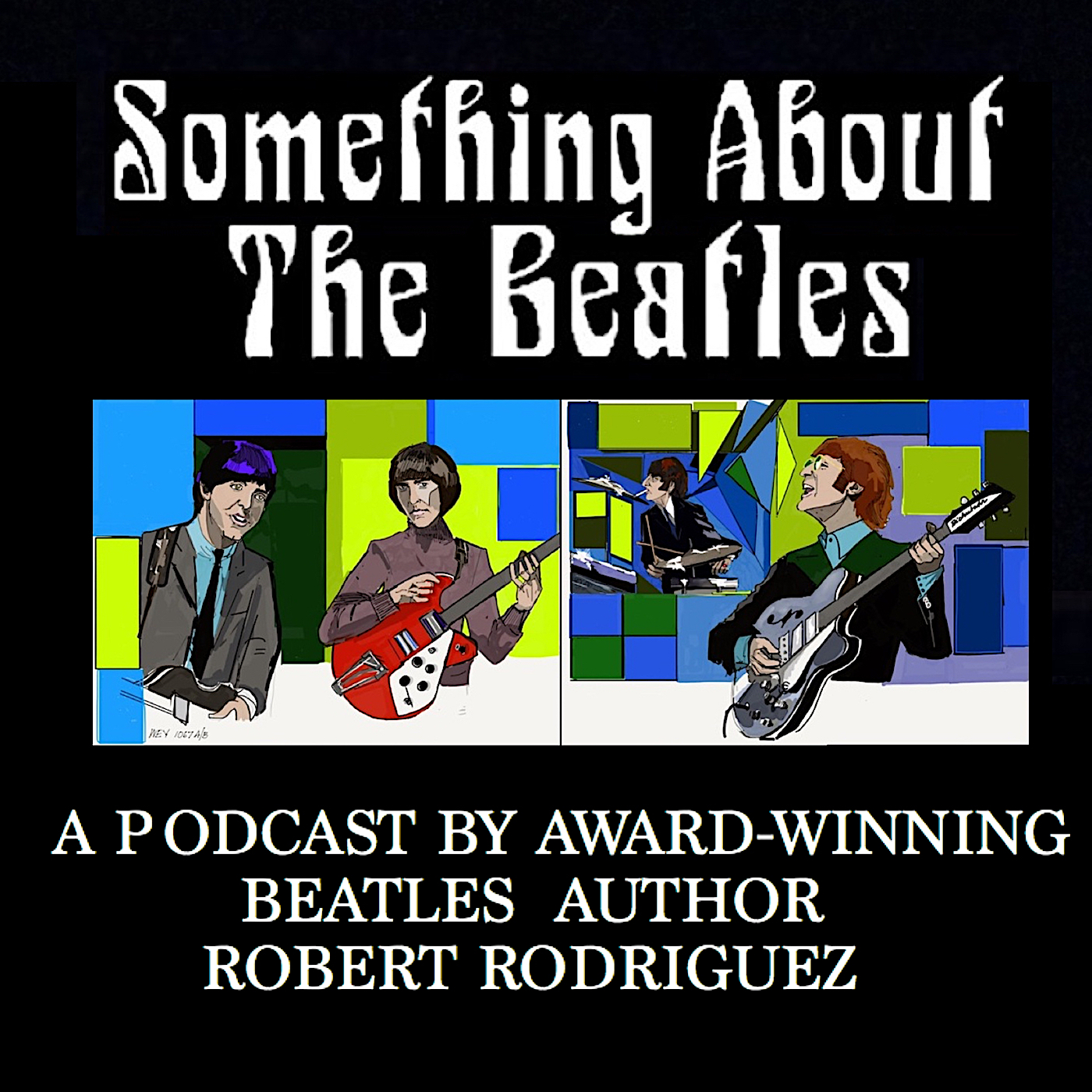 Something About the Beatles show art