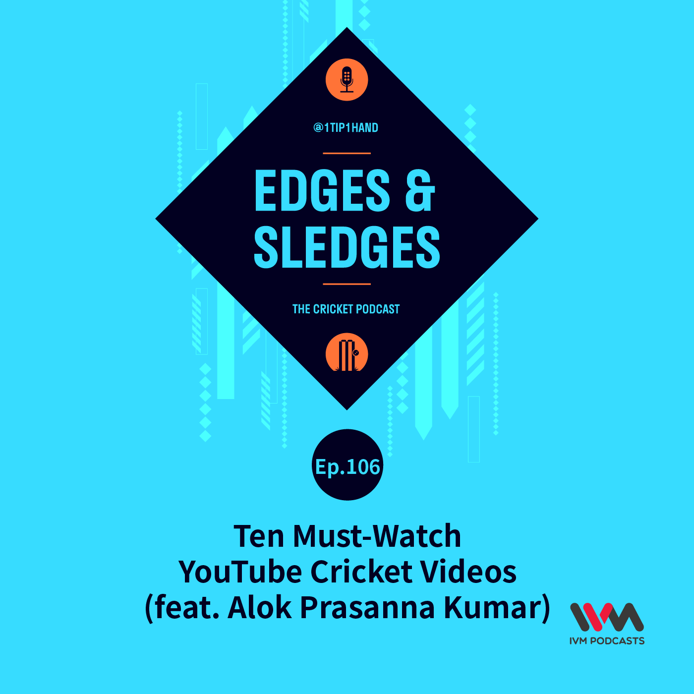 Ep. 106: Ten Must-Watch YouTube Cricket Videos (feat. Alok Prasanna Kumar)