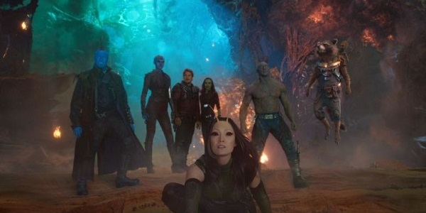 Guardians of the Galaxy - team shot