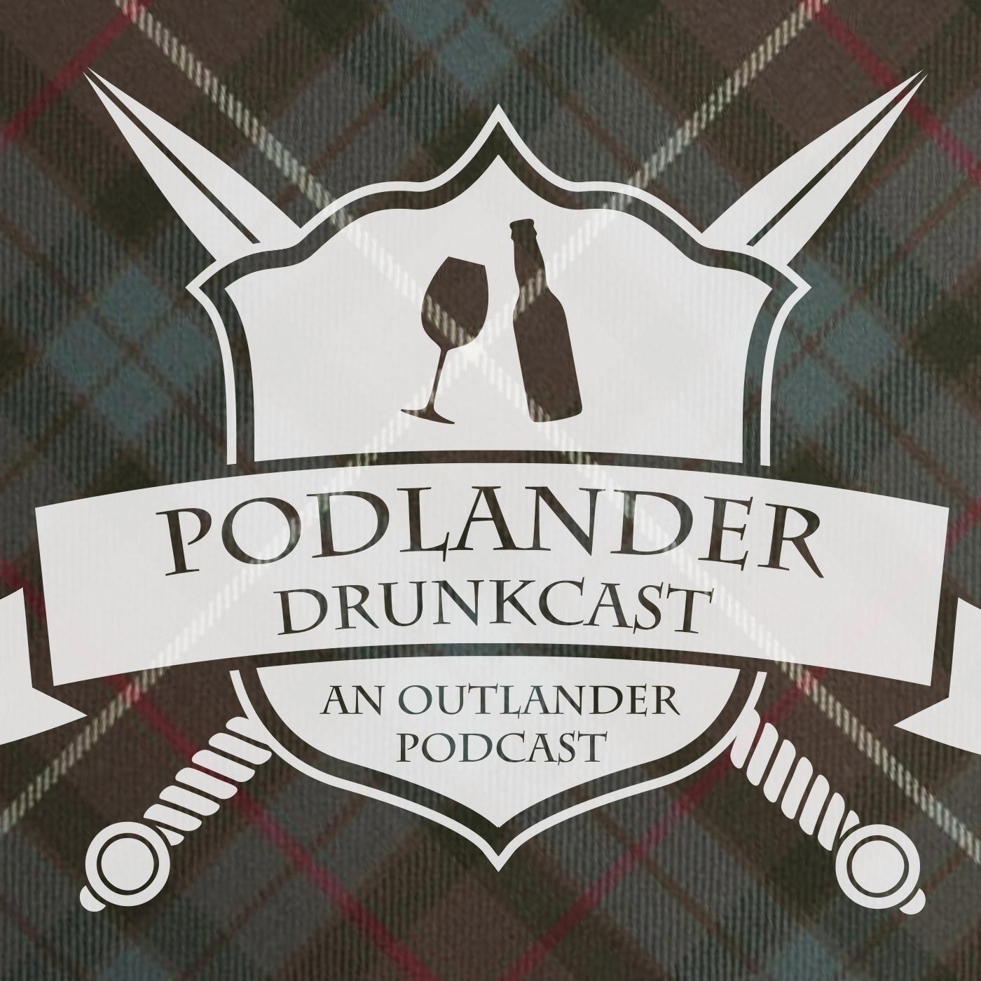 Podlander Drunkcast show art