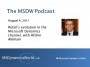 Artwork for MSDW Podcast: Retail's evolution in the Microsoft Dynamics channel, with Afshin Alikhani