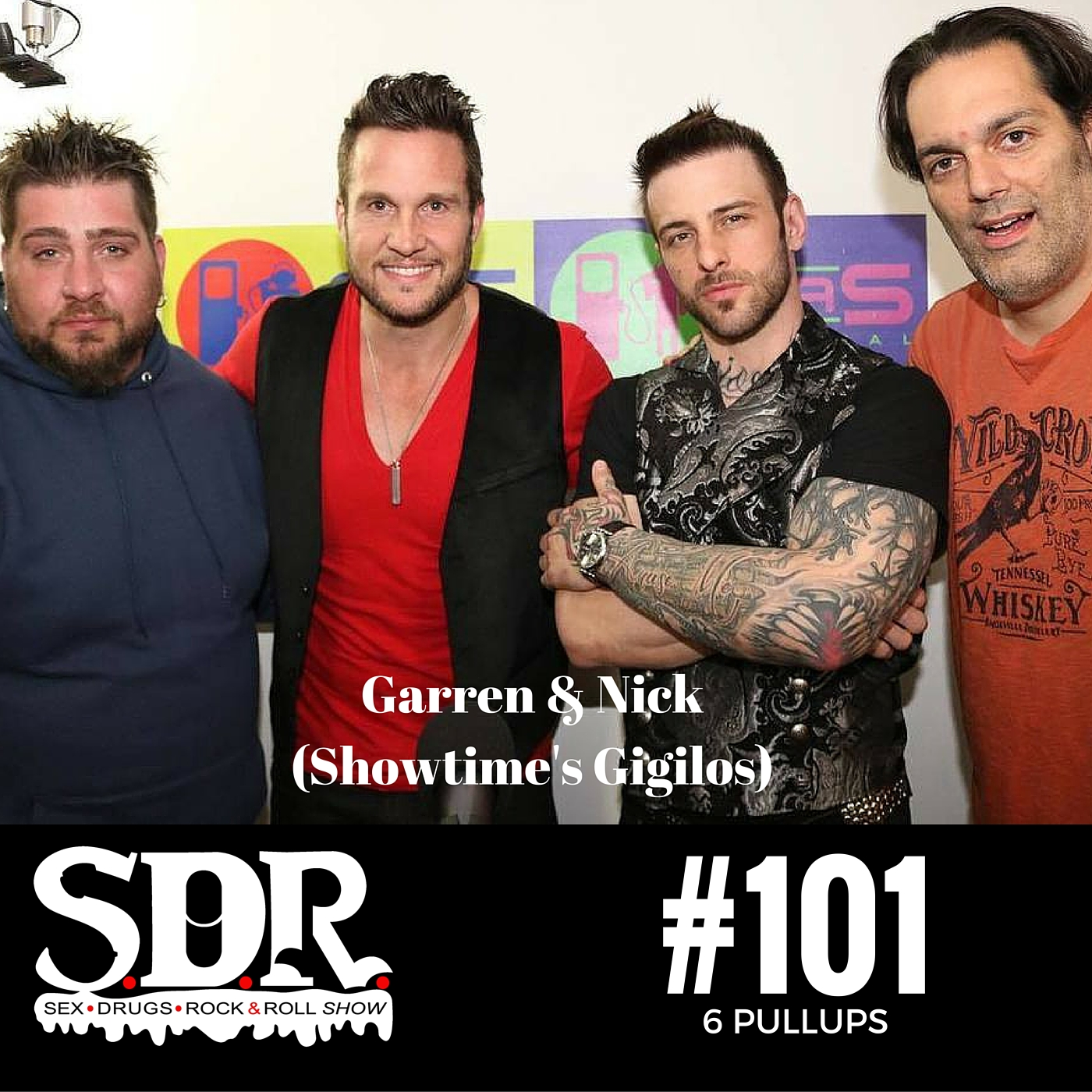 SDR 101 - Nick Hawk & Garren James (Showtime's Gigilos)