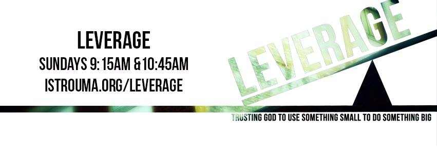 Leverage: Week 2, October 25, 2015