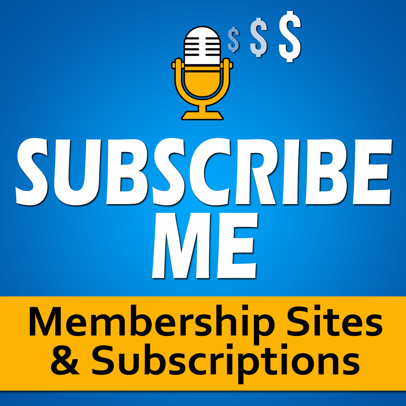 SubscribeMe Online Courses, Membership Sites, Content Marketing and Digital Marketing show art