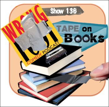 EP136--Tape on Books