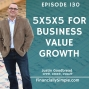 Artwork for 5x5x5 for Business Value Growth