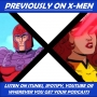 """Artwork for X-Men: The Animated Series """"Enter Magneto"""" & """"Deadly Reunions"""""""