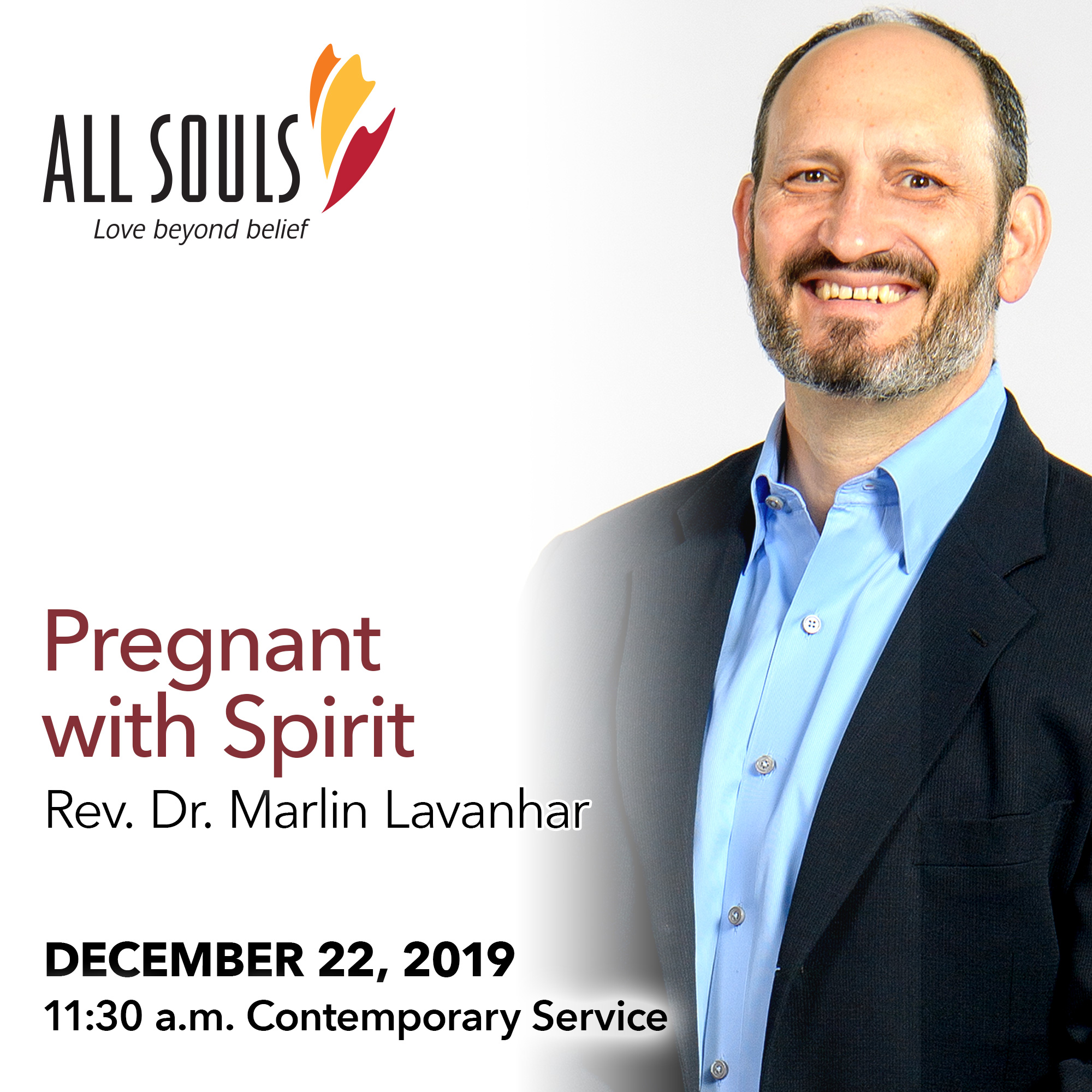 'PREGNANT WITH SPIRIT' - A sermon by Rev. Dr. Marlin Lavanhar (Contemporary Service) show art