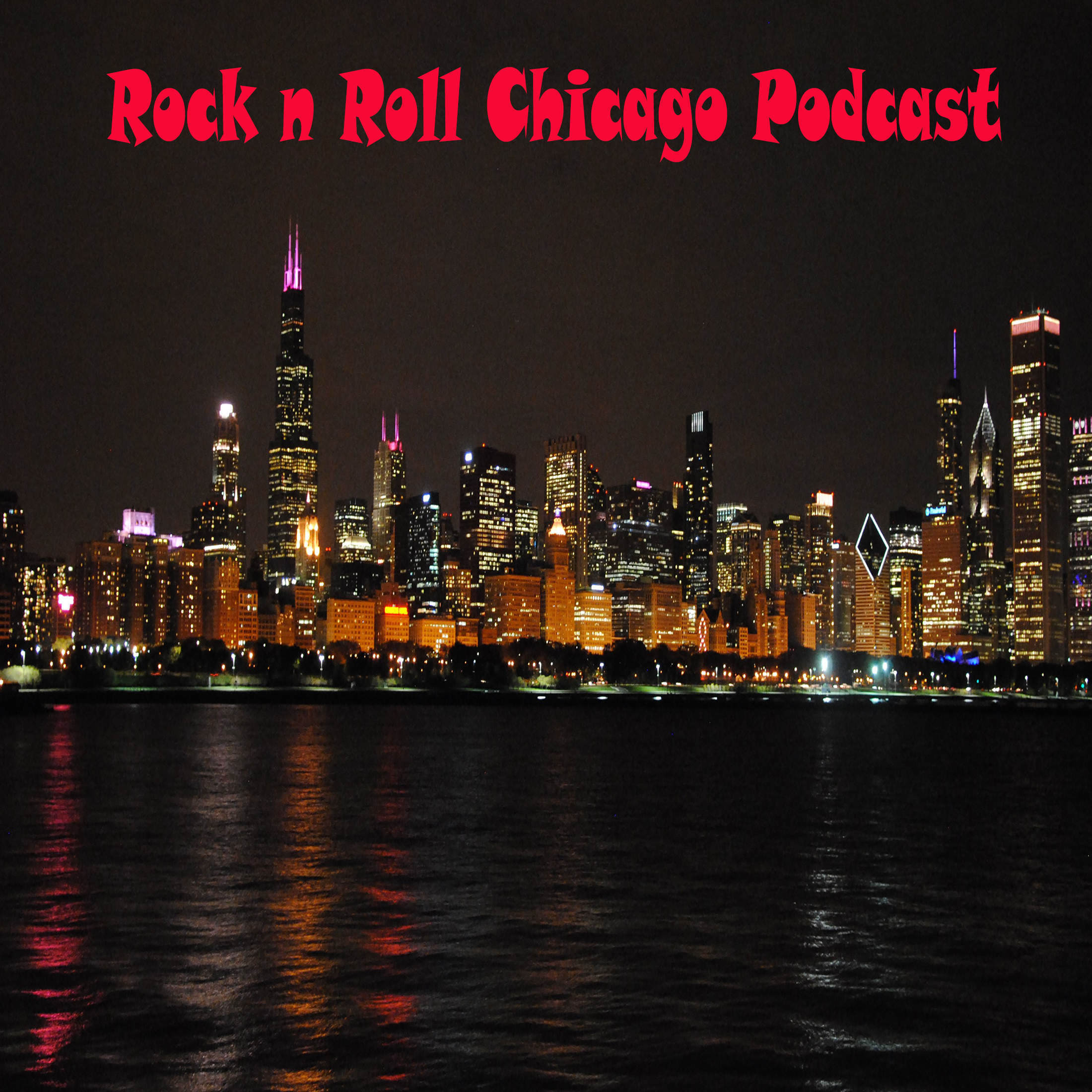 Rock n Roll Chicago Podcast show art