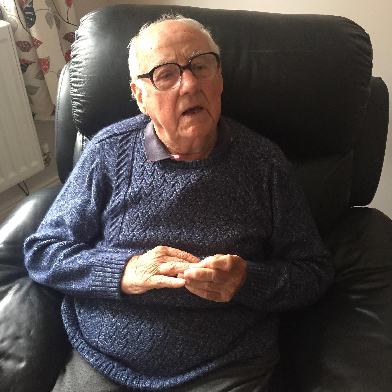 Claude Reynolds WW2 Lancaster veteran 2016