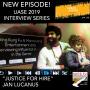 Artwork for UASE 2019 INTERVIEW SERIES: JAN LUCANUS, filmmaker, creator, JUSTICE FOR HIRE