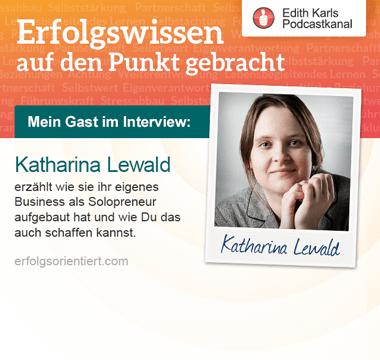 186 – Im Gespräch mit Katharina Lewald - Teil 2