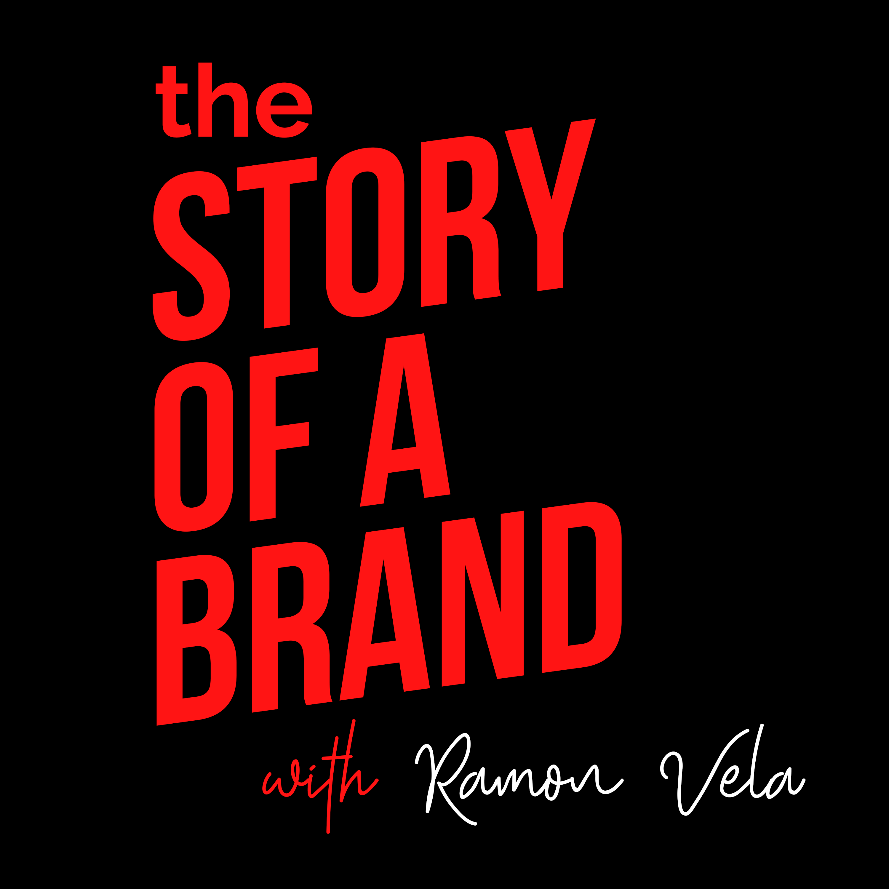 The Story of a Brand show art