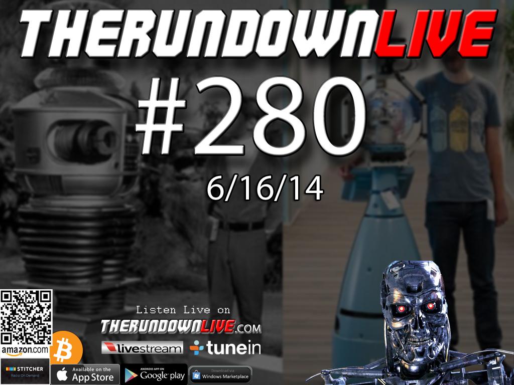 The Rundown Live #280 Open Lines (Iraq War 3,Robots on Patrol,Collapse)