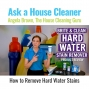 Artwork for How to Remove Hard Water Stains - Brite and Clean Product Review